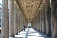 Impressive columns line along the Museum Island.
