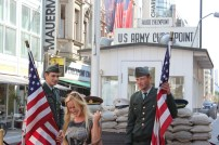 Checkpoint Charlie. Not much to see here.