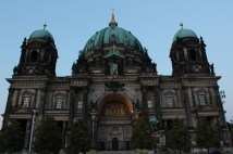 Back to Berliner Dom. I have a feeling my wife really liked the place!