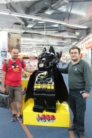 Fast forward to Saturn in Alexanderplatz! Gotta love the Lego Batman from the Lego Movie.