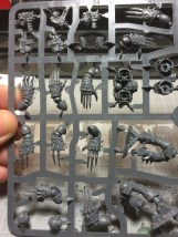 The arms are a little trickier, I suggest following the patterns if you insist in removing all parts from the sprues for clues.