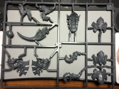 The Carnifex sprue is the simplest looking one.