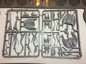 The sprues are not too crowded and there's enough variety to please the modeller.