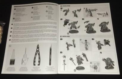 The manual reminds me of Dark Vengeance - similarly precise and simple to follow.