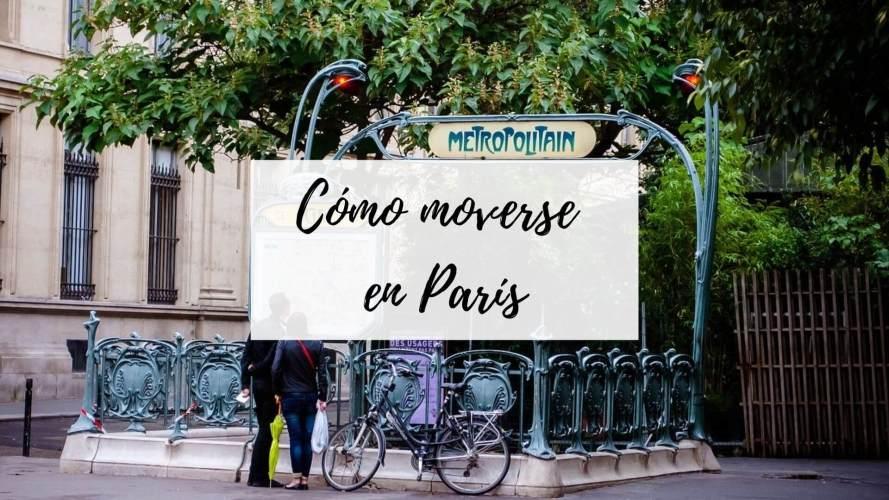 como moverse en paris