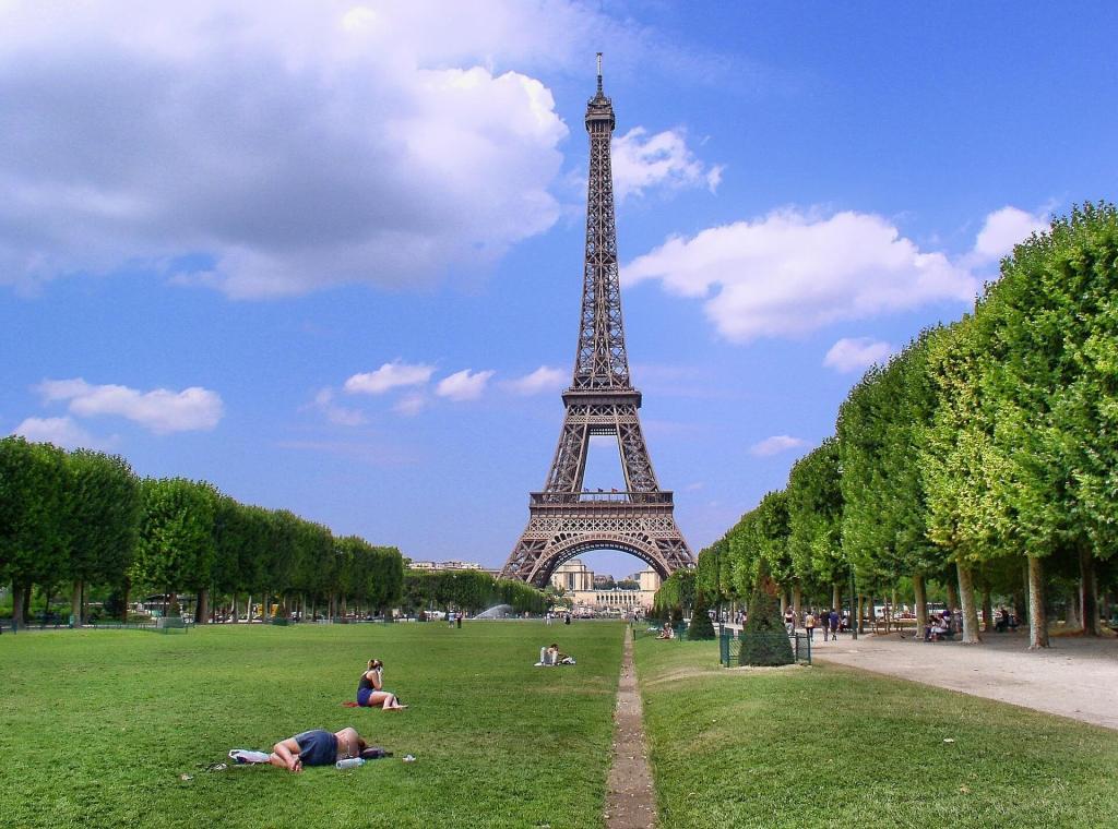 la torre eiffel en paris en 3 días