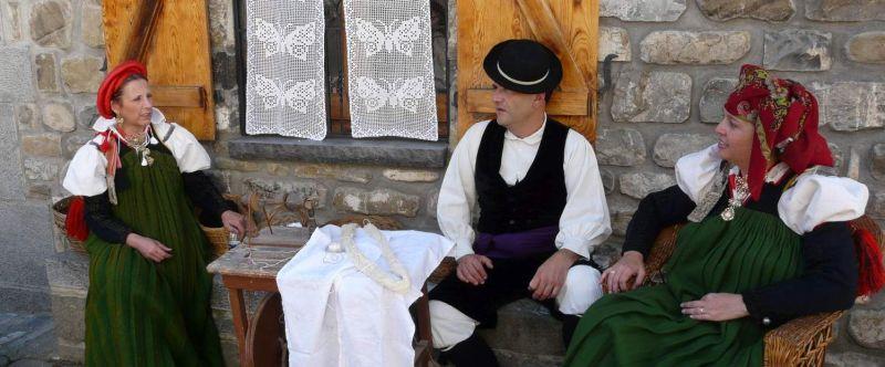 Ansó, pueblo bonito Aragón