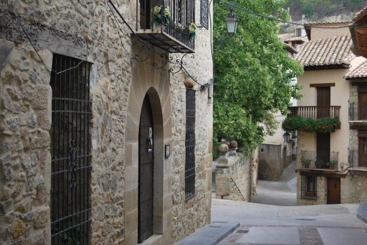 Calles de Rubielos de Mora