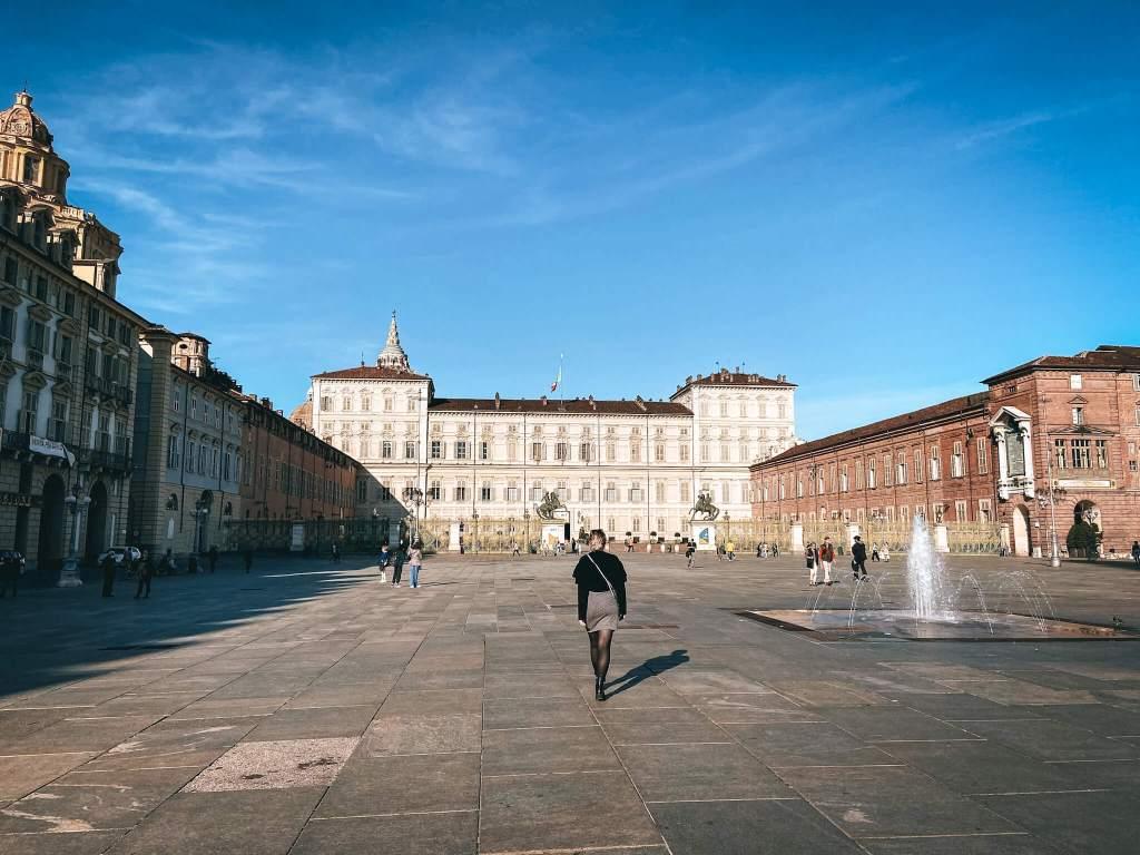 el palacio real de turín