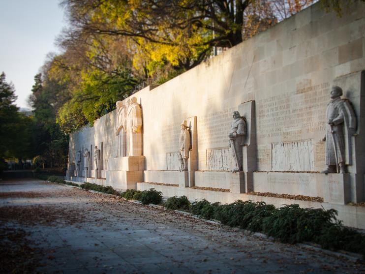 monumento a la reforma ginebra