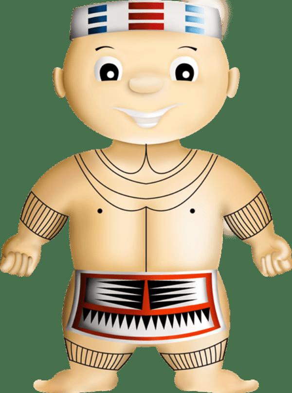 Pembuatan Boneka Maskot Suku Mentawai