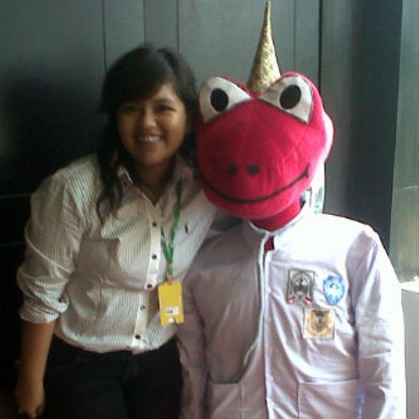 Maskot Regional Medical Olympiad 2014 di Padang