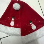 Produsen Topi Santa Natal dengan Nama Anak-anak