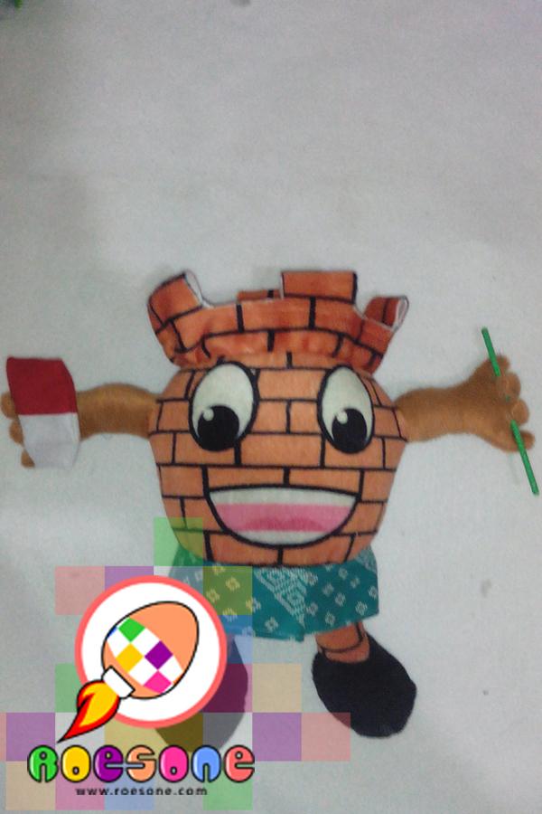 Boneka Maskot KPU Balangan Kalimantan Selatan