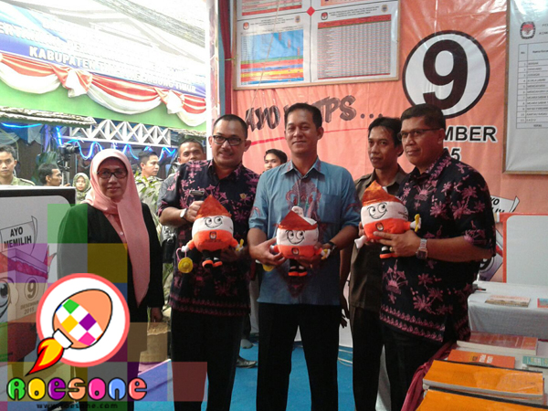 Boneka KPU untuk Zumi Zola Bupati Tanjung Jabung Timur