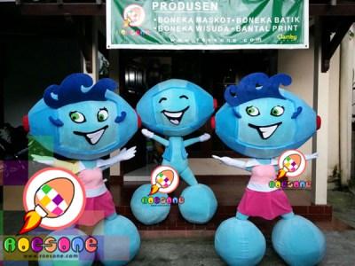 Boneka Promosi Edukasi TMII Taman Mini Indonesia Indah