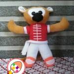 Boneka Maskot Kejurnas Wushu Junior Babel Bangka Belitung