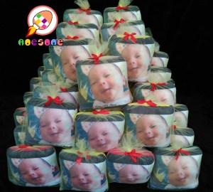 Produsen Bantal Print Souvenir Baby Born Paling Murah