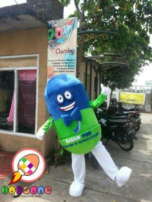 Produsen Boneka Badut Maskot BPOM si Odie di Yogyakarta
