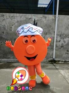 Boneka Promosi Kabupaten Lamandau Kalimantan Tengah