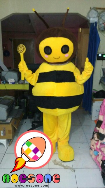 Produsen Boneka Maskot Badut Karakter Lebah untuk Pajak