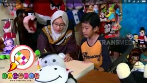 Produsen Boneka Muslimah Hijab di Laptop si Unyil
