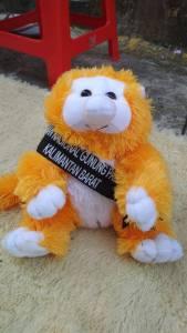 Produsen Boneka Maskot Taman Nasional Gunung Palung Kalimantan Barat