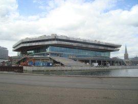 Det nye hovedbibliotek og borgerservice på havnen.