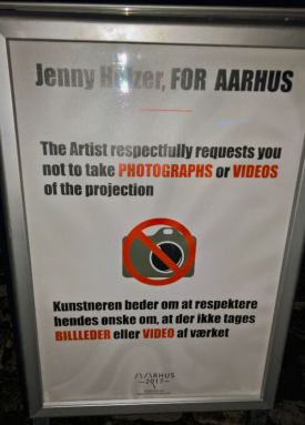 Jenny Holzer: For Aarhus