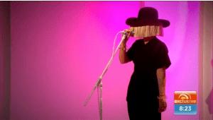 Sia live on Sunrise 823