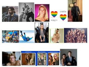 Hele 12 billedkategorier med LGBTQ+'er kendt fra TV, Film, Sport mv. Her er de korrekte svar:Michelle Rodriguez,Adam Rippon ogGus Kenworthy, Rachel Maddow, 8 kroner,Sara Ramirez,Kajsa Bergqvist ogAnja Pärson, Paris Jackson,Russell Tovey, US ishockey-team,Steven Carrington (spillet af Al Corley 1981-82), Tre tv-serier:Orange is the new Black,Shameless (The Fosters kan også godkendes) ogSense8 samtTom Daley og Dustin Lance Black.
