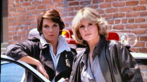 Mary Beth Lacey (Tyne Daly) og Christine Cagney (Sharon Gless)