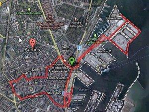 dagens rute = 8 km