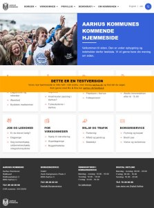 Ny hjemmeside skal gøre det nemmere at være borger i Aarhus