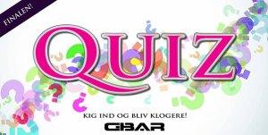 GBar Quizfinale