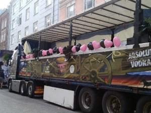 GBar vogn til Copenhagen Pride