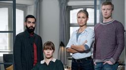 Gråzone er en svensk-dansk drama-thrillerserie på 10 afsnit som vises på TV2