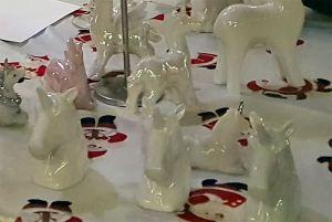 porcelæns eenhjørninge