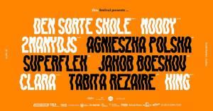 thisfestival2018 - Den Sorte Skole, Moody, 2ManyDJs, Agnieszka Polska, Superflex, Jakob Boeskov, Clara, Tabita Rezaire, King
