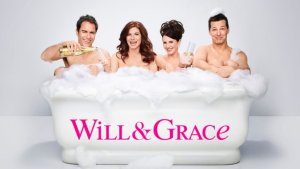Eric McCormack, Debra Messing, Sean Hayes og Megan Mullally aka Will, Grace, Jack og Karen - (Photo by: NBCUniversal)