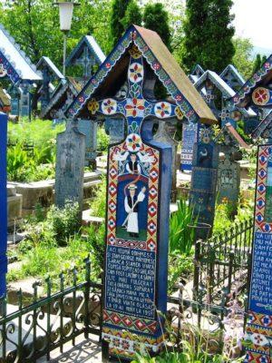 Romania Fotoblog Sapanta Cimitirul Vesel 2