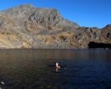 Swiming at 4300m