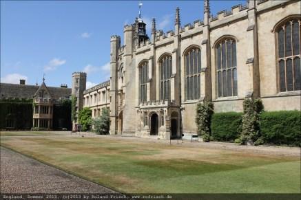 Trinity College Chapel von außen