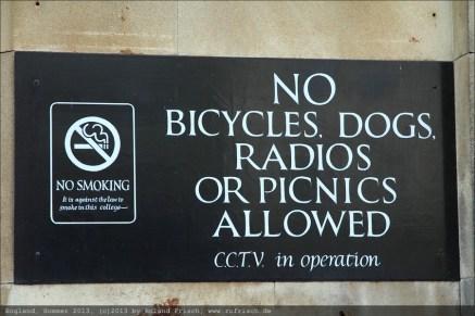 Verboten, verboten, verboten....