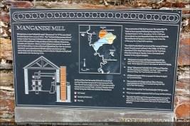 Manganmühle, Infotafel
