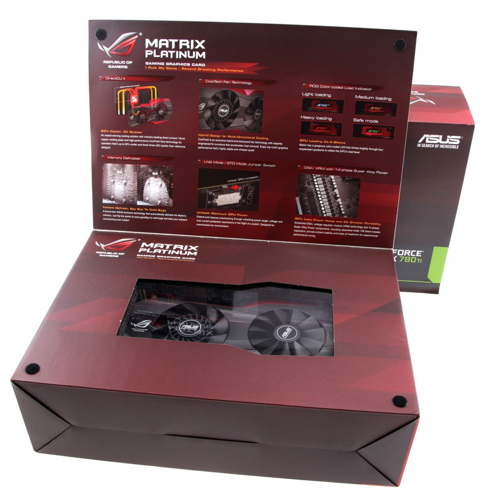 Unboxing The Matrix GTX 780 Ti And R9 290X Gallery And