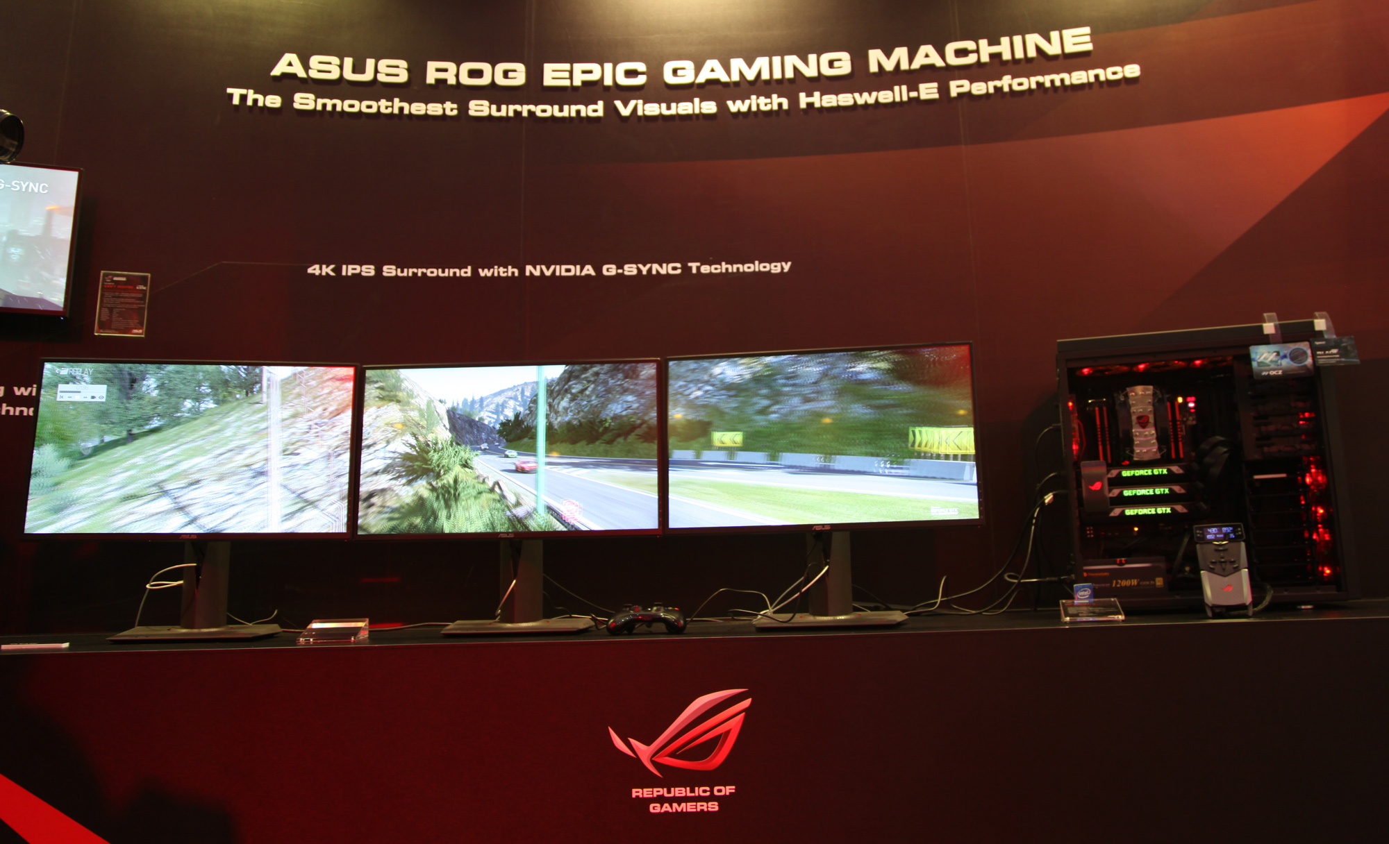 Computex 2015 ASUS ROG Announces Latest Range Of Gaming Gear
