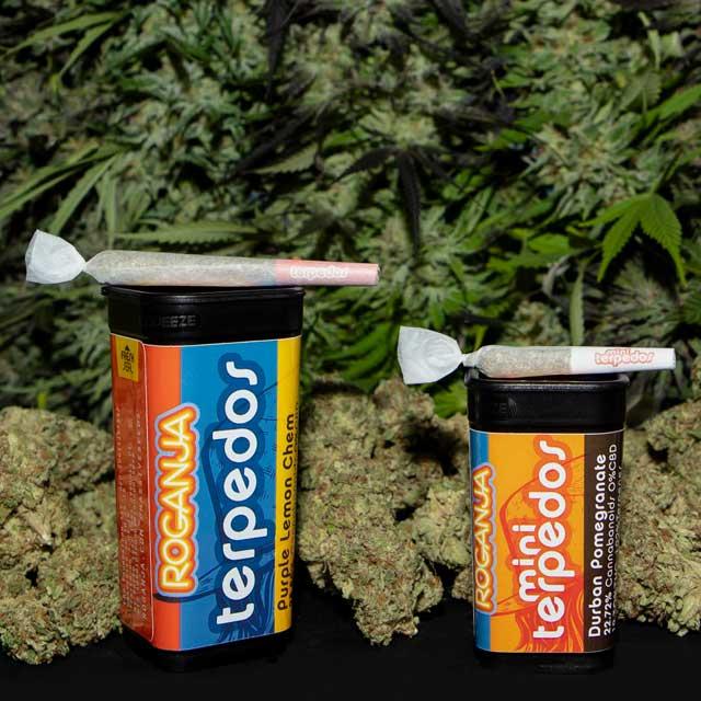 Roganja Southern Oregon Cannabis Terpedos Prerolls