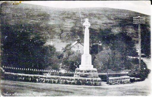 War memorial, Rogart