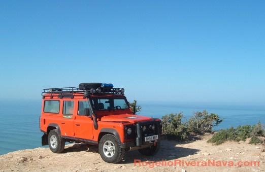 2006 Land Rover Defender, Essaouira, Morocco